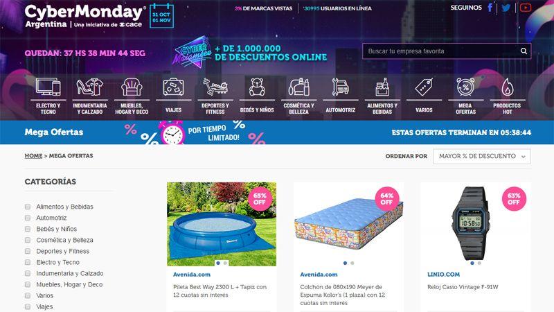 Para aprovechar estas son las mega ofertas del cyber Cyber monday 2016 argentina muebles