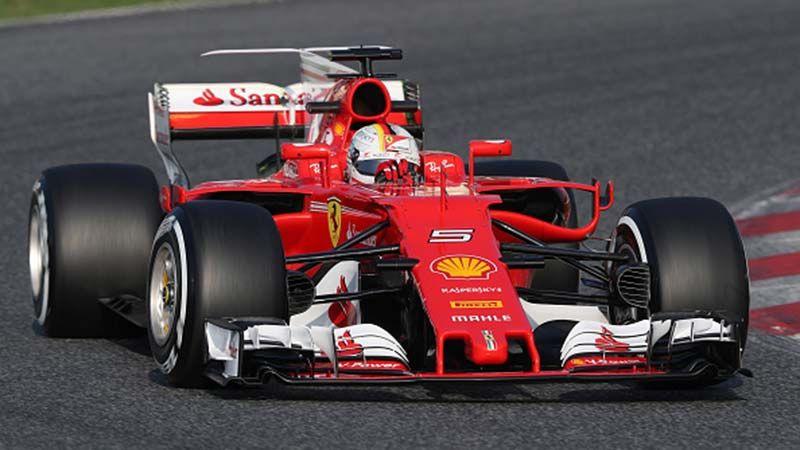 Sebastian Vettel marcó el ritmo en los primeros ensayos de la ...