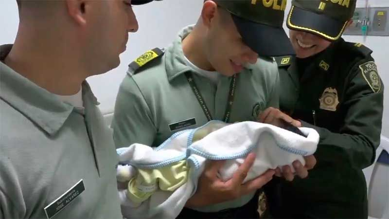 Bebé de cuatro días de nacida fue abandonada