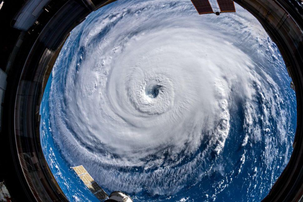 Así se ve el huracán 'Florence' desde el espacio