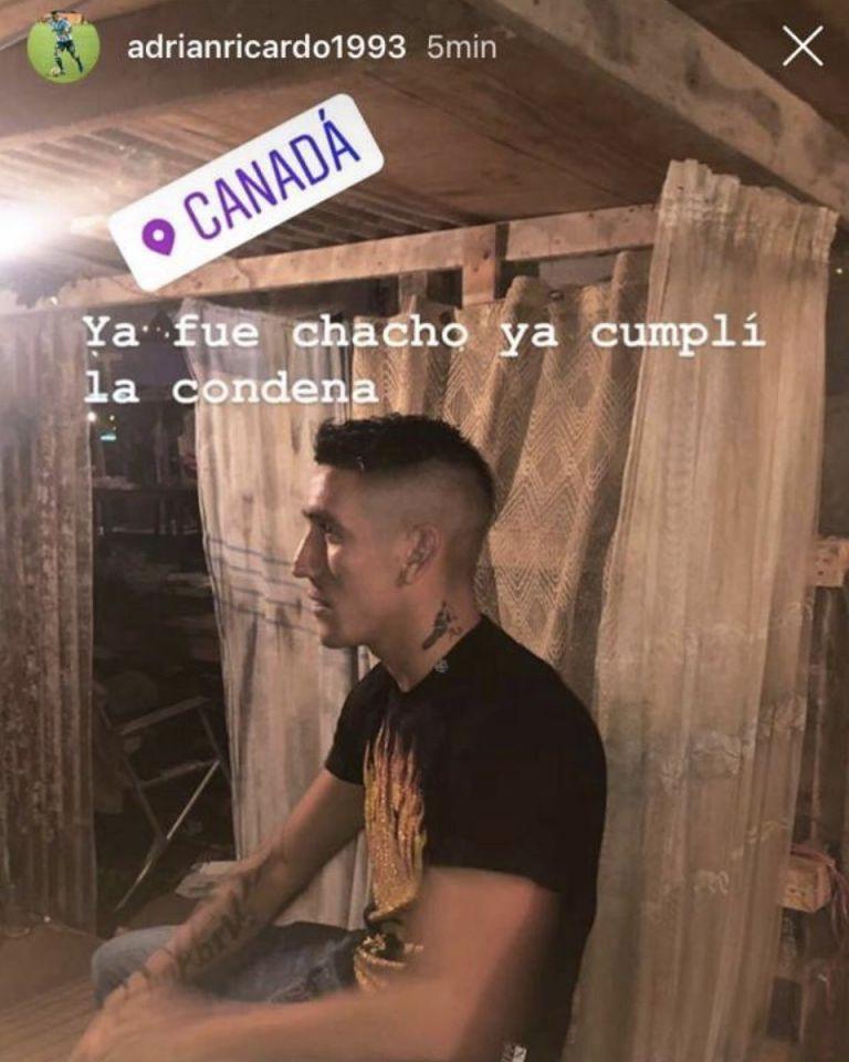 Centurión reapareció con un mensaje para el 'Chacho' Coudet