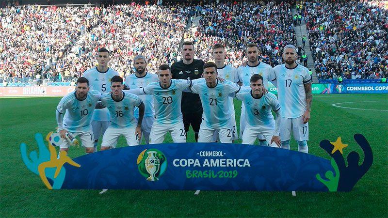 Fuertes críticas al logo de la Copa América Argentina-Colombia 2020
