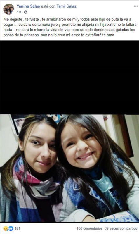 """La bronca de los amigos de Tamara Salas: """"Dejaste sin madre a tu hija, ojalá te pudras"""" 3"""