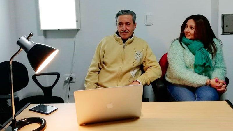 Los Dres. Argañaras y Trejo explicaron cómo trabaja CAIRO con sus pacientes.