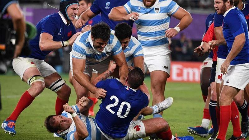 captura Brillar interferencia  Así se desató la pelea entre Los Pumas y Francia al final del partido -  Diario Panorama Movil