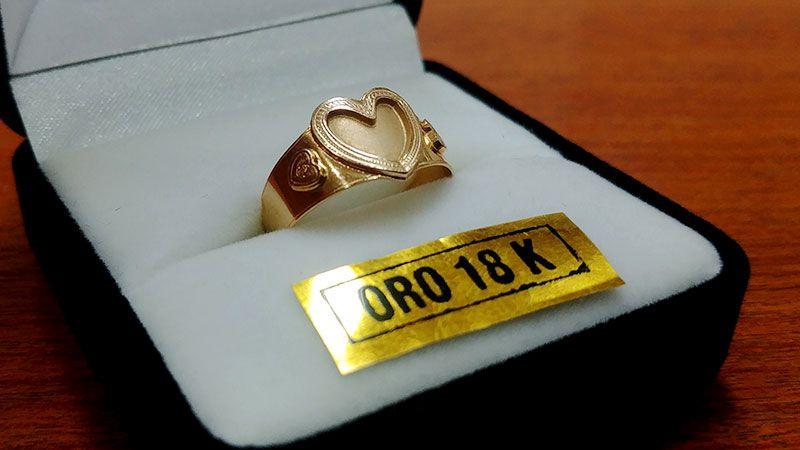 El hermoso anillo de Máximo Joyas