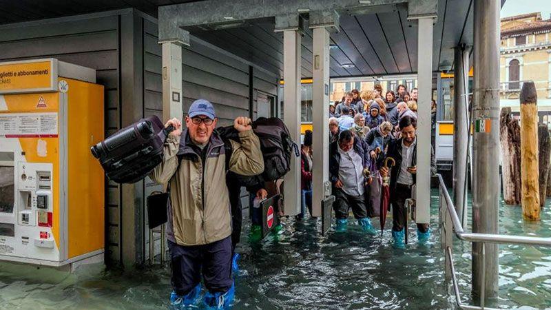 Venecia sufre su peor inundación desde 1966 | FOTOS