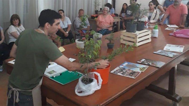 Exitoso curso de Bonsai en el Centro Cultural Ricardo Rojas - Diario Panorama de Santiago del Estero