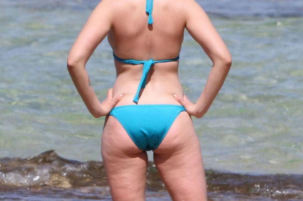 Scarlett Johansson, protagonista de una polémica por sus fotos en bikini sin Photoshop