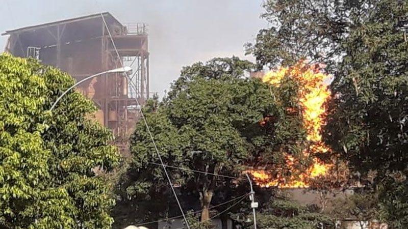 Incendio Jujuy