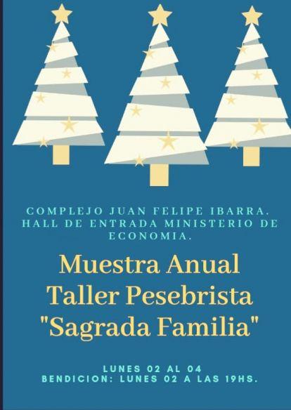 Invitan a exposicion de pesebres artesanales en el complejo Juan Felipe Ibarra