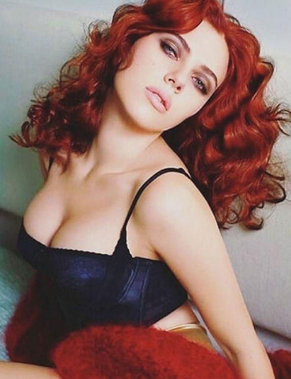 Scarlett Johansson al rojo vivo
