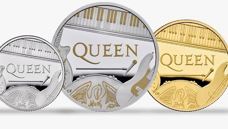 moneda de queen