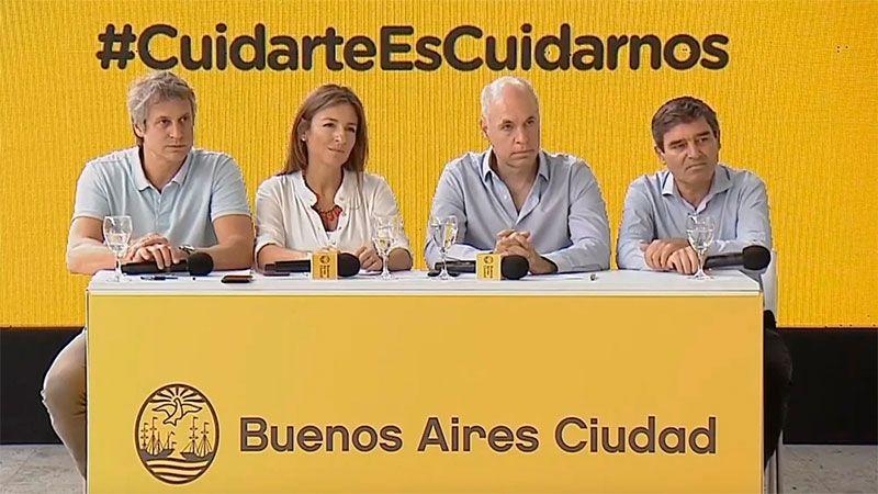 Los anuncios de Rodríguez Larreta para evitar la concentración de gente - Diario Panorama Movil