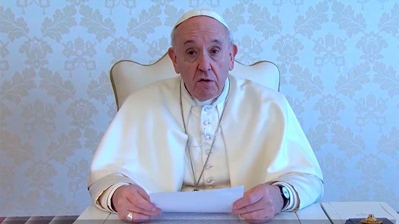 El papa pidió un gesto de ternura con el que sufre