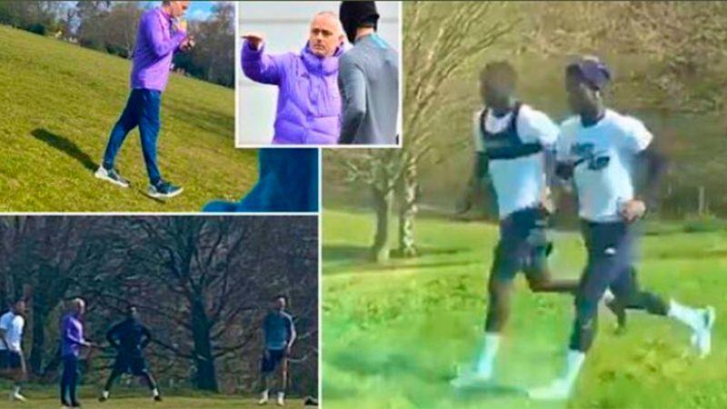 Mourinho se salta el confinamiento y el Tottenham le advierte