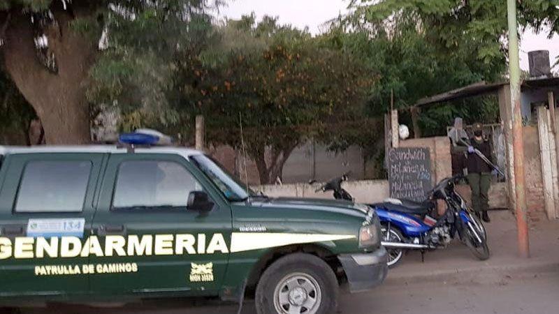 Allanamiento Gendarmería