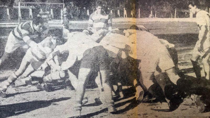 Partido entre Santiago Lawn Tennis y Forestales RC.