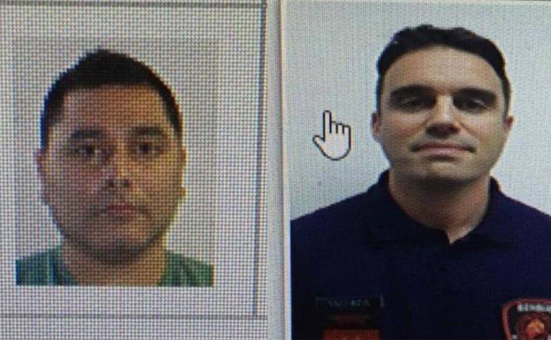 Maximiliano Firma Paz (izq.) y Ariel Gastón Vázquez, las dos víctimas fatales.