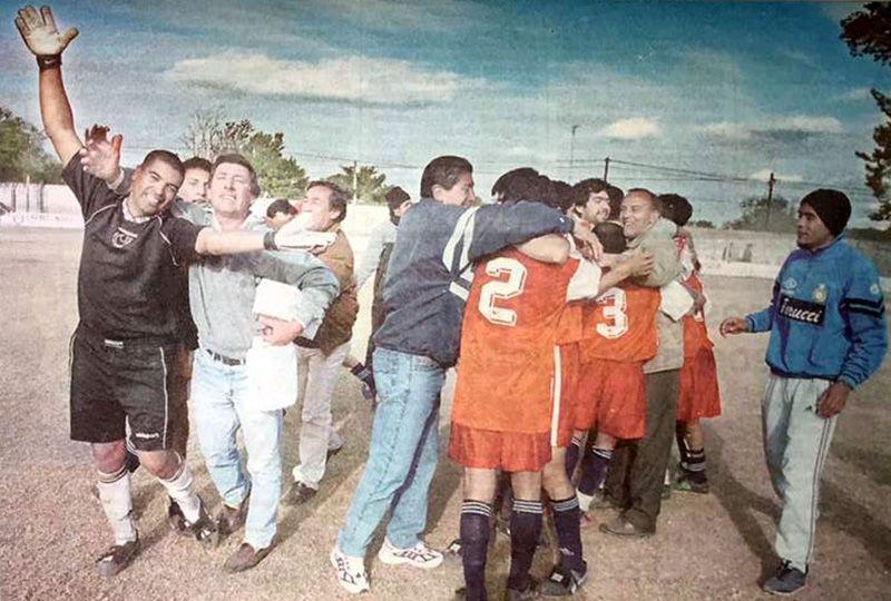 El ascenso de Atlético Forres. Foto: El Liberal.