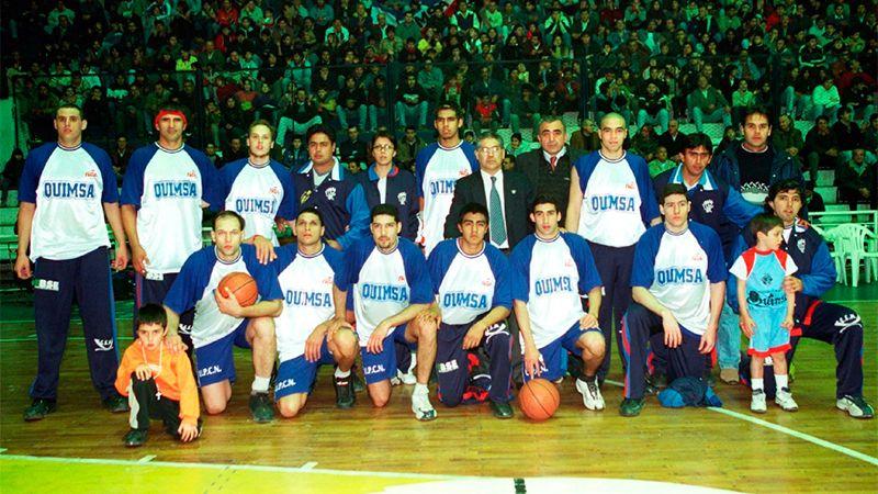 El plantel campeón de Quimsa. Foto: Diario El Liberal