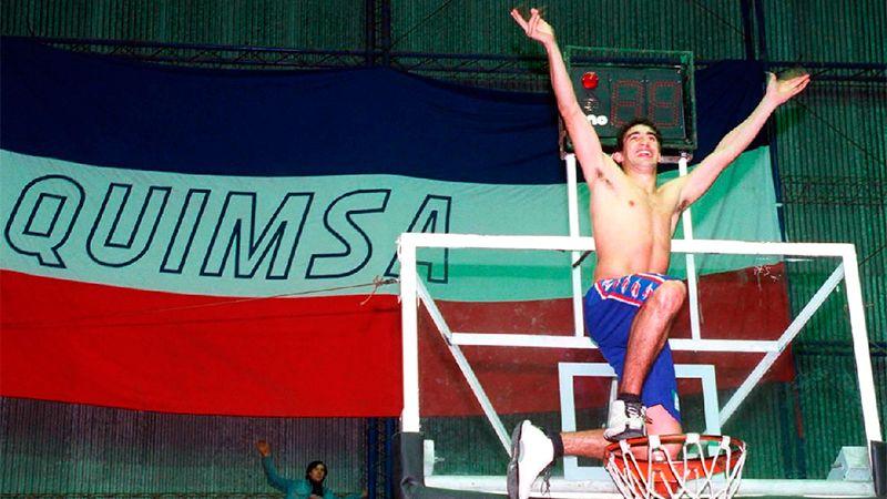 Fernando Small, goleador y figura de Quimsa. Foto: Diario El Liberal