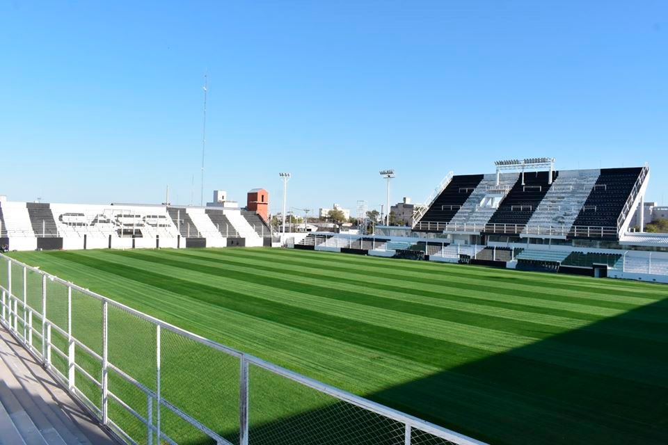 El campo de juego del Estadio Alfredo Terrera luce mejor que nunca. Foto: Prensa Club Central Córdoba