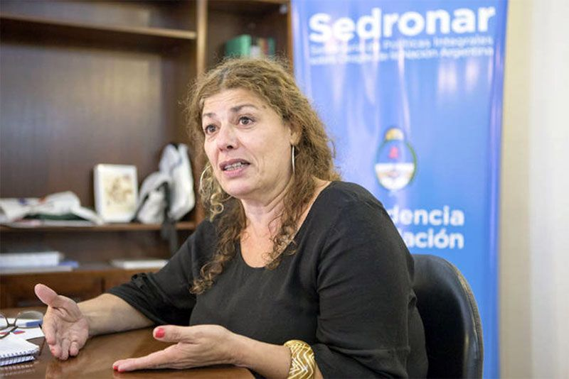 Gabriela Torres, SEDRONAR.
