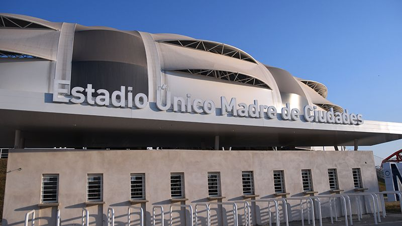 Entrada de Costanera y Puente Carretero. Foto: Federico Chara - Diario Panorama.