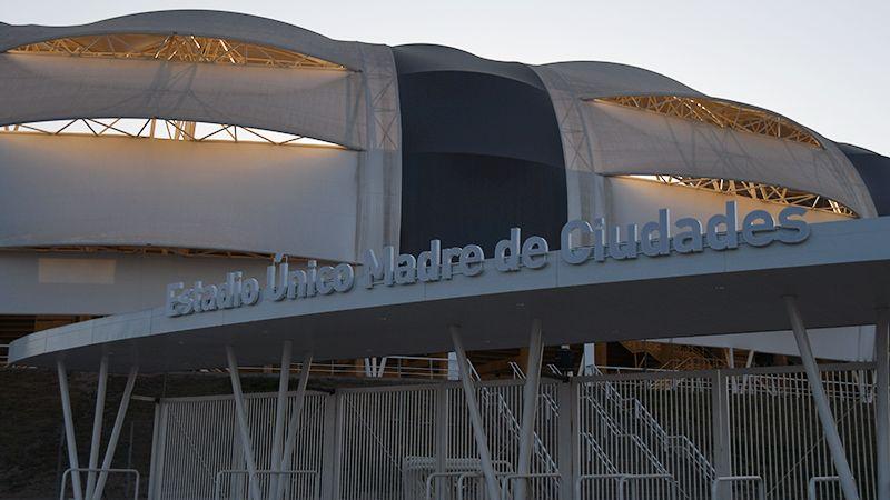Entrada de Costanera y Av. Roca. Foto: Federico Chara - Diario Panorama.