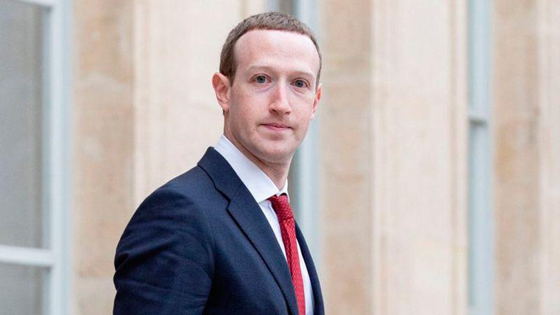 Mark Zuckerberg CEO de Facebook