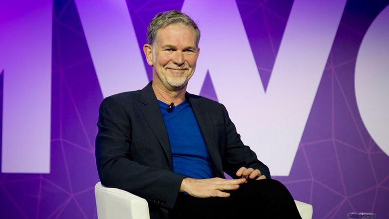 Reed Hastings CEO de Netflix