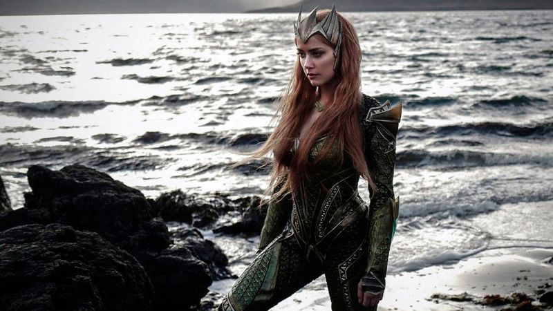 Amber Heard interpretó a Mera.