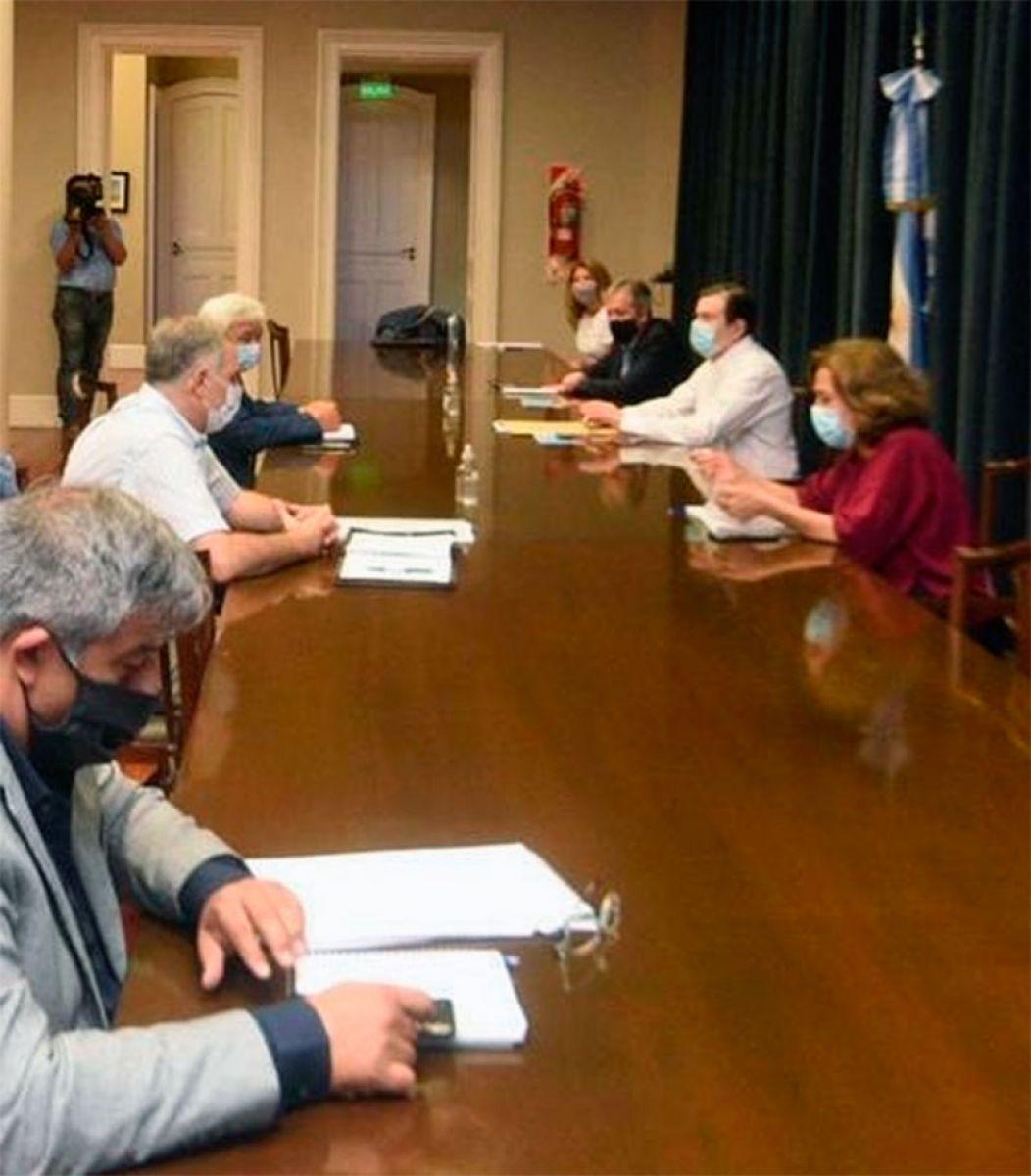 Reunión del COE