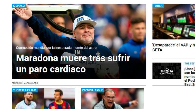 El diario deportivo español Marca