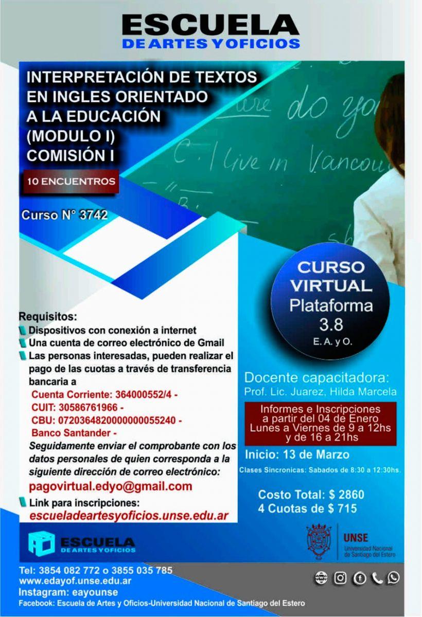 Escuela de Artes y Oficios de la UNSE