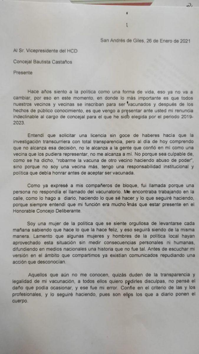 Documento (TN).