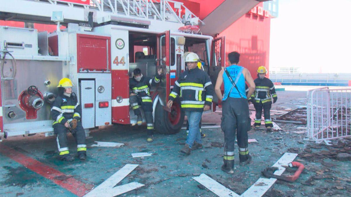 Incendio autodromo