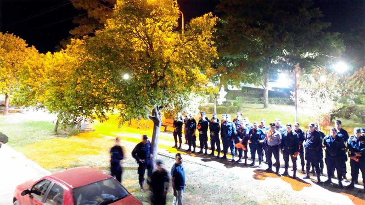 La Policía reforzó los controles en Selva.