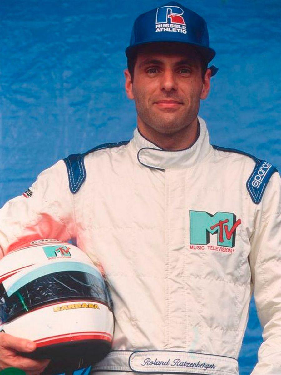 Ratzenberger llegó con 33 años a la F1.
