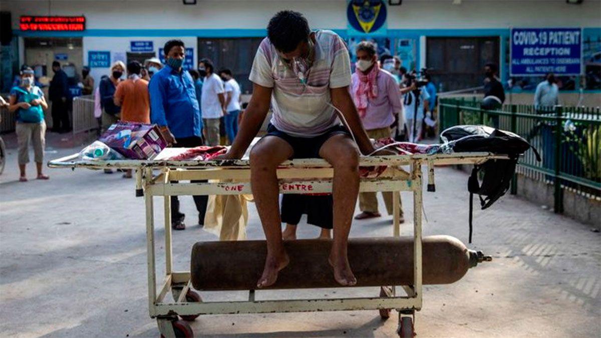 Los hospitales colmados
