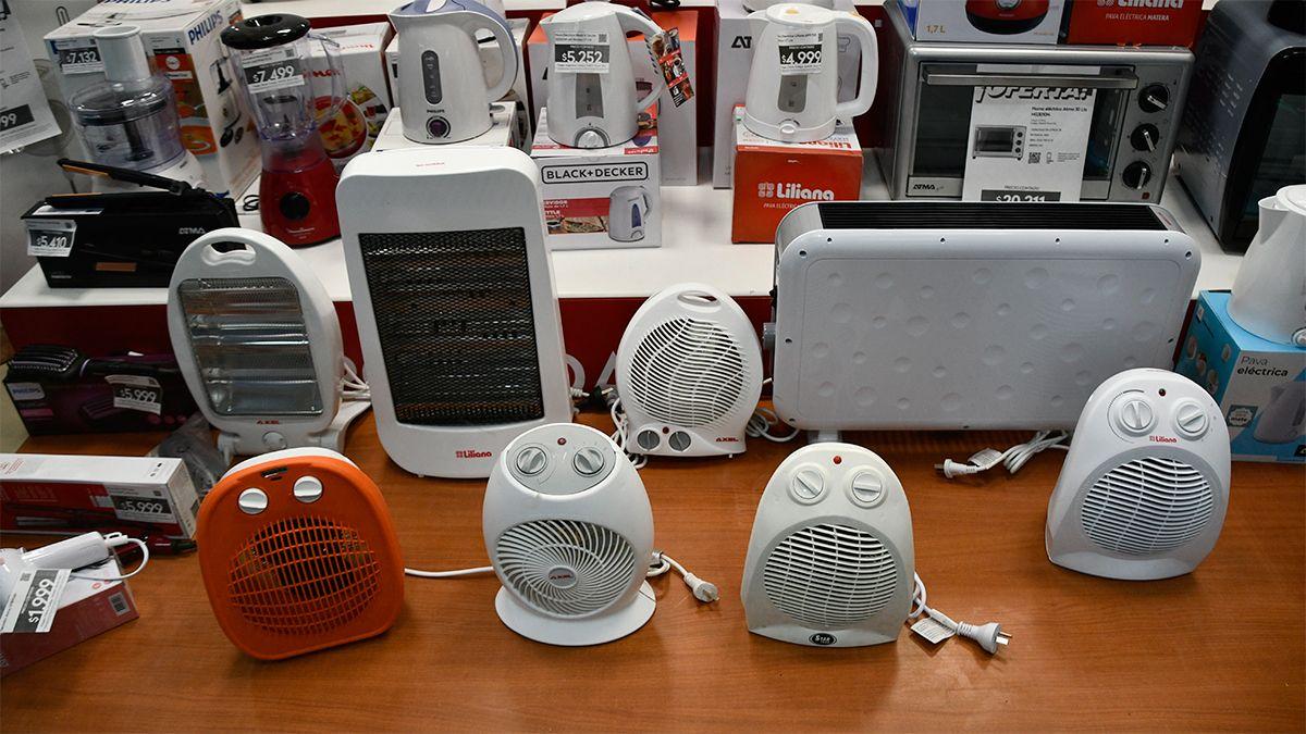 Calefactores y estufas en venta.