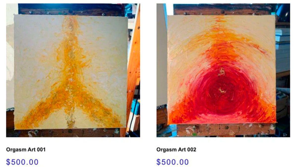 Sus particulares pinturas