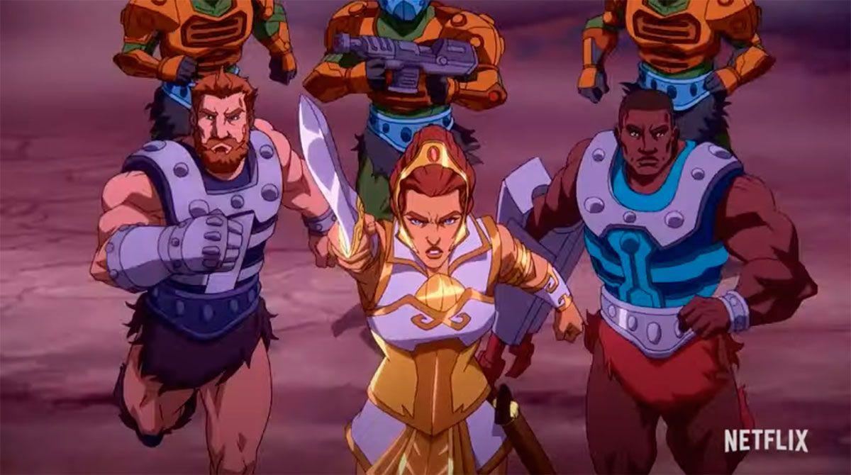 Teela deberá reunir a los héroes para resolver el misterio de la Espada de Poder perdida.