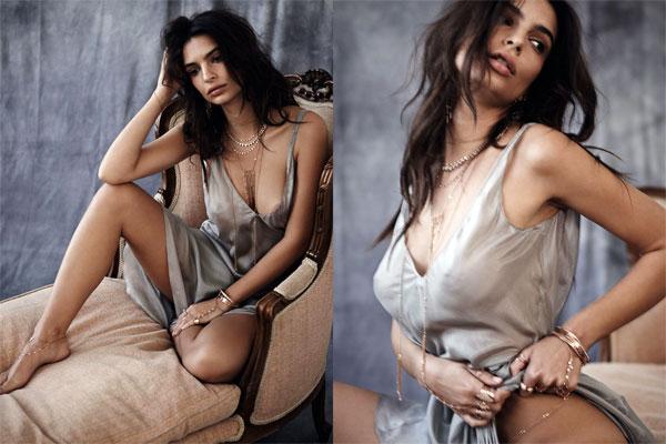 Emily ratajkowski sesión de fotos desnuda para gq turquía
